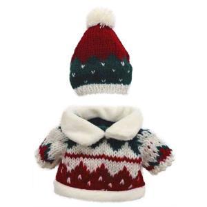 べアウェア キャップ&セーター ノルディック L ぬいぐるみ ぬい 服 洋服 着せ替え プレゼント|dearbear