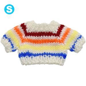 べアウェア セーター レインボー S ぬいぐるみ ぬい 服 洋服 着せ替え プレゼント|dearbear