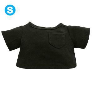 べアウェア カラーTシャツ ブラック S ぬいぐるみ 服 洋服 ぬい dearbear