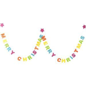 クリスマス ガーランド  メッセージ GLD CANDY 飾り 装飾|dearbear