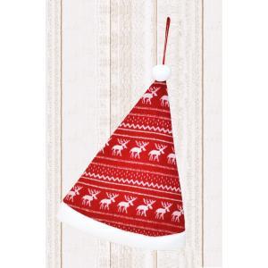 クリスマス オーナメント ノルディック ファブリック ハット 飾り 装飾|dearbear