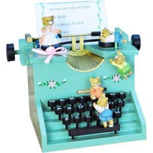 クリスマス オーナメント オルゴール タイプライター 飾り 装飾|dearbear