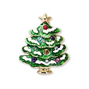 クリスマス ピンズ ジュエリー ツリー 飾り 装飾 プレゼント|dearbear