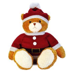 クリスマスセーターベア サンタ ジョージ XL テディベア プレゼント ギフト|dearbear