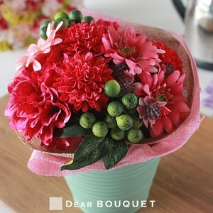 母の日 ギフト 花束 アートフラワー フラワーブーケ フラワーアレンジメント プレゼント お祝い 贈り物 花 誕生日 結婚記念日 内祝い