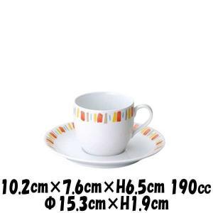 【サイズ】カップ 10.2cm×7.6cm×H6.5cm 190cc ソーサー φ15.3cm×H1...