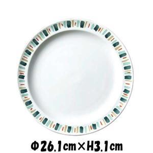【サイズ】φ26.1cm×H3.1cm 【カラー】 ホワイト        ※画像と実際ではモニター...