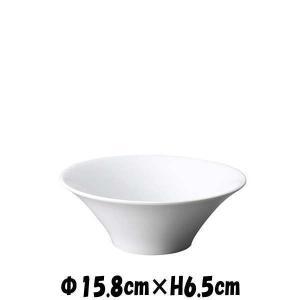 Alice 16cmボール どんぶり丼 白い陶器磁器の食器 おしゃれな業務用洋食器 お皿中皿深皿|deardishbasara