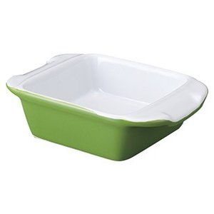 GR角グラタン グリーン オーブン対応グラタン皿ドリア皿 陶器磁器の耐熱食器 おしゃれな業務用洋食器...