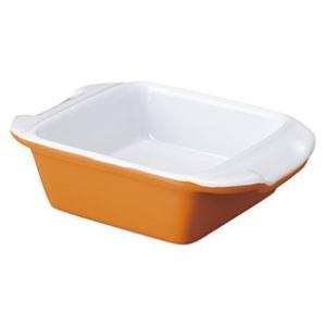 【サイズ】14cm×9.7cm×H3.7cm 【カラー】オレンジ      ※画像と実際ではモニター...