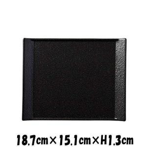 【サイズ】18.7cm×15.1cm×H1.3cm 【カラー】 ブラック      ※画像と実際では...
