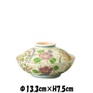金箔小花 蓋物 陶器磁器の食器 おしゃれな業務用和食器 お皿中皿深皿