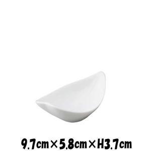 花びらボウルWH 白い陶器磁器の食器 おしゃれな業務用洋食器 お皿小皿平皿|deardishbasara