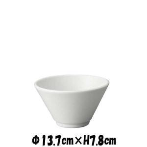 切立深口4.5丼 白 どんぶり丼 陶器磁器の食器 おしゃれな業務用和食器 お皿中皿深皿|deardishbasara