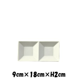 【サイズ】9cm×18cm×H2cm 【カラー】ホワイト      ※画像と実際ではモニターや光の加...