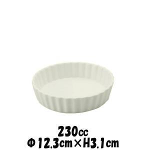 12cmフルーツタルト オーブン対応ココットスフレ 白い陶器磁器の耐熱食器 おしゃれな業務用洋食器 お皿中皿深皿 deardishbasara