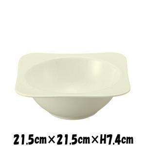 ロンド 8.5ボウル 割れにくい強化硬質磁器 白い陶器磁器の食器 おしゃれな業務用洋食器 スクエア お皿大皿深皿|deardishbasara