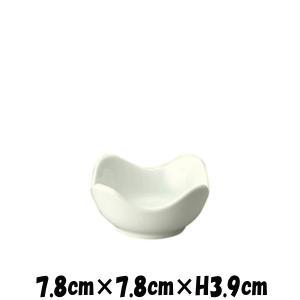 SQ8cmボール 白い陶器磁器の食器 おしゃれな業務用洋食器 スクエア お皿小皿深皿|deardishbasara