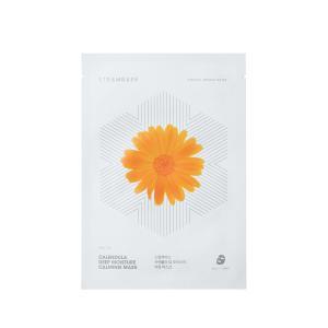 【正規輸入/国内発送】STEAMBASE カレンデュラ ディープモイスチャー カーミングマスク(10枚入り)|dearpalee