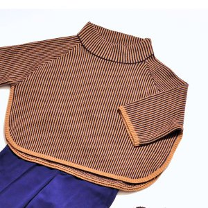『hoss』ストライプセーター|dears-hokusetsu
