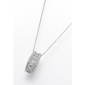 PT950 ダイヤモンドペンダントヘッド 計1.0ctUP[クィーン]|dears-hokusetsu