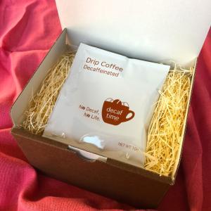 ドリップコーヒープレゼントBOX12個入<プレゼントに添えて…結婚式 プチギフトにも>|decaf
