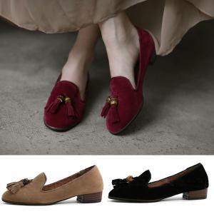 ローファー レディースシューズ タッセル オペラシューズ スエード おじ靴 オックスフォード ペタンコ  婦人靴 革靴 ヒール パンプス  メンズライク|deciliter