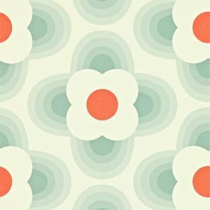 輸入壁紙 ORLAKIELY オーラカイリー Striped Petal 花柄 110404|decoall