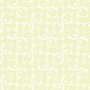 輸入壁紙 ORLAKIELY オーラカイリー Small Acorn Cup 葉っぱ柄 110416|decoall