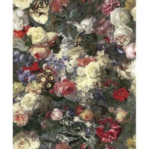 rasch 2020 輸入壁紙 113143 マルチカラー 花柄 絵画 油絵 クロス 10m巻 DIY はがせる ドイツ製  国内在庫品|decoall