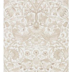 壁紙 ウィリアムモリス PURE MORRIS(ピュアモリス) Pure Lodden ピュアロデン 216031 輸入壁紙 白 グレー|decoall