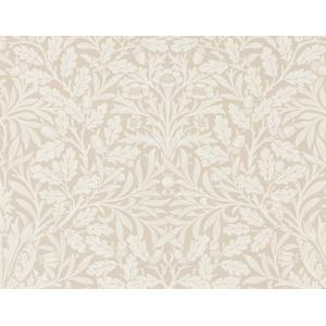 輸入壁紙 ウィリアムモリス PURE MORRIS(ピュアモリス) Pure Acorn エイコン 全6色 白 グレー 216040|decoall