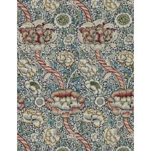 壁紙  ウィリアムモリス WANDLE MORRIS&CO「コレクター」 216420 レッド ブルー 花柄 輸入壁紙 新作 |decoall