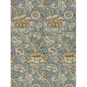 壁紙  ウィリアムモリス WANDLE MORRIS&CO「コレクター」 216421 グリーン 緑 花柄 輸入壁紙 ワンドル|decoall