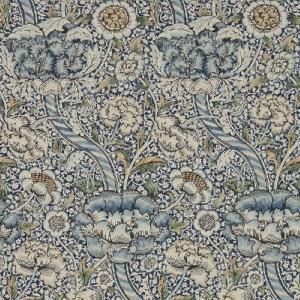 壁紙  ウィリアムモリス WANDLE MORRIS&CO「コレクター」 216422 ブルー 花柄 輸入壁紙 新作|decoall
