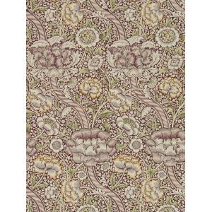 壁紙  ウィリアムモリス WANDLE MORRIS&CO「コレクター」 216424 パープル 紫 花柄 輸入壁紙 ワンドル|decoall