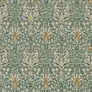 壁紙  ウィリアムモリス スネークスヘッド MORRIS&CO「コレクター」 216427 グリーン 緑 花柄 輸入壁紙|decoall
