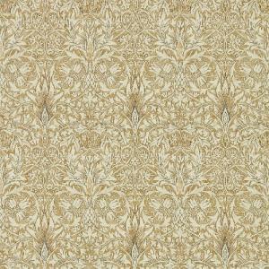 壁紙  ウィリアムモリス スネークスヘッド MORRIS&CO「コレクター」 216429 ベージュ ゴールド 花柄 輸入壁紙|decoall