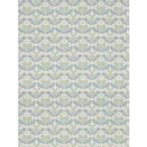壁紙  ウィリアムモリス ベルフラワーズ MORRIS「コレクター」 216435 白 ブルー 花柄 輸入壁紙|decoall