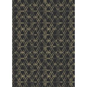 輸入壁紙  ESPOIR NEW AGE  国内在庫 22710 黒 ブラック 幾何学 モダン SIRPI テシード DIY |decoall