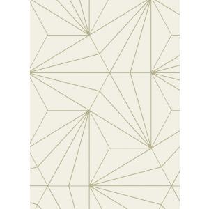 輸入壁紙  ESPOIR NEW AGE  国内在庫 22762 ベージュ 幾何学 モダン SIRPI テシード DIY |decoall