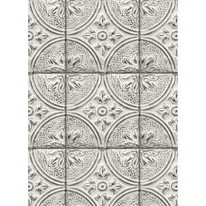 輸入壁紙  ESPOIR NEW AGE  国内在庫 2767-23763 白 ストーン タイル BREWSTER テシード DIY |decoall