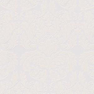 輸入壁紙 UTOPIA5 ダマスク柄 ホワイト 30396-1|decoall