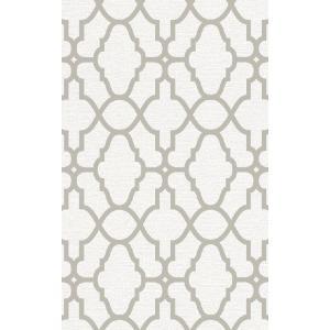 rasch 2020 輸入壁紙 309317 ホワイト 白 ゴールド 幾何学 モダン クロス 10m巻 DIY はがせる ドイツ製  国内在庫品|decoall
