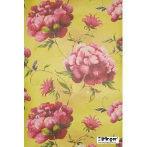 輸入壁紙(不織布) TECIDO YOSOY 花柄イエロー 331504|decoall