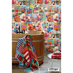 ピップスタジオ PIPSTUDIO 壁紙 壁画(パネル)タイプ 花柄コラージュ 341083 輸入|decoall