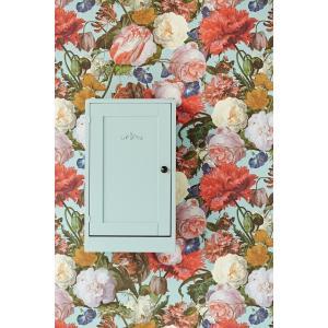 輸入壁紙 MASTERPIECE 花柄 ライトブルー 358003|decoall