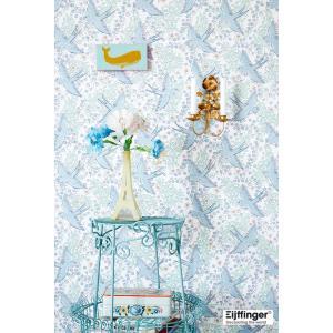 rice ライス 壁紙 359020 バード(鳥柄) ブルー 輸入|decoall