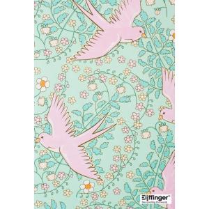 rice ライス 壁紙 359022 バード(鳥柄) ライトグリーン 輸入|decoall