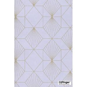 輸入壁紙  FUSION 366070  テシード 幾何学 ライラック  ゴールド  モダン 国内在庫品 クロス はがせる 10m巻 壁紙 |decoall